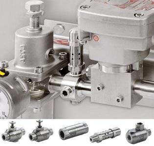 Las nuevas válvulas accesorio de acero inoxidable amplían la oferta del Control de Actuador de Emerson